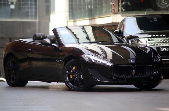 2013 Maserati GranCabrio M145 Sport