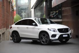 2017 Mercedes-Benz GLE-Class C292 GLE43 AMG Coupe 5dr 9G-TRONIC 9sp 4MATIC 3.0TT