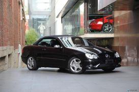 2009 Mercedes-Benz CLK-Class A209 CLK280 Avantgarde Cabriolet 2dr Auto 7sp 3.0i [MY08]