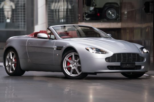 2007 Aston Martin V8 Vantage Roadster 2dr Seq. Mac 6sp 4.3i [MY08]