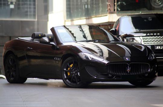 2013 Maserati GranCabrio M145 Cabriolet 2dr Spts Auto 6sp 4.7i [MY13]