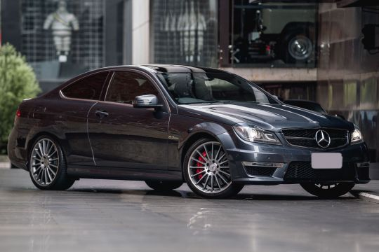 2013 Mercedes-Benz C63 C204 AMG Coupe 2dr SPEEDSHIFT MCT 7sp 6.3i [MY13]