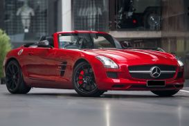 2012 Mercedes-Benz SLS R197 AMG Roadster 2dr SPEEDSHIFT DCT 7sp 6.3i