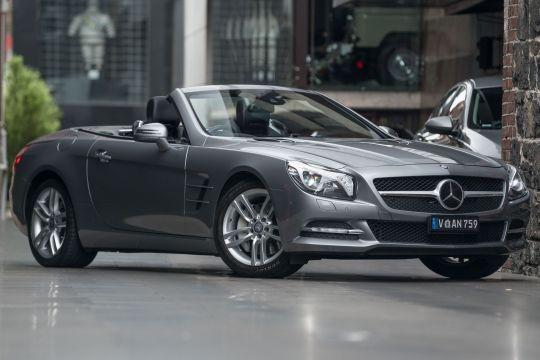 2012 Mercedes-Benz SL350 R231 BlueEFFICIENCY Roadster 2dr 7G-TRONIC + 7sp 3.5i [Aug]