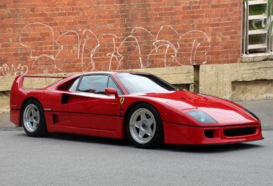 1990 Ferrari F40 CATALYST/NON-ADJUST LHD (CAR IN UK)