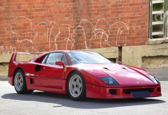 1992 Ferrari F40 CAT ADJUST LHD (CAR IN UK)