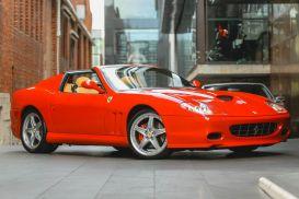 2006 Ferrari Superamerica 575 Convertible 2dr Man 6sp 5.7i