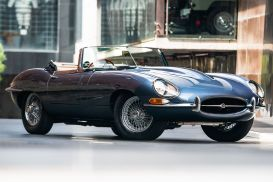 1961 Jaguar E-Type Series 1-3.8 Flat Floor Roadster