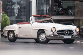 1963 Mercedes-Benz 190SL R121 Roadster 2dr Man 4sp 1.9 [Mar]