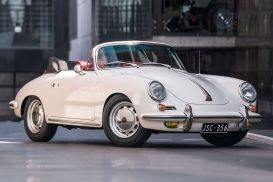1964 Porsche 356C Cabriolet 2dr Man 4sp 1600