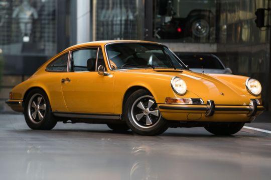 1969 Porsche 911 S Coupe 2dr Man 5sp 2.0i