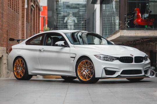 2016 BMW M4 F82 GTS Coupe 2dr M-DCT 7sp 3.0TT