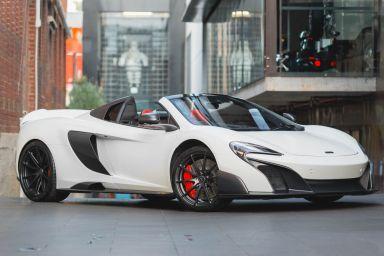 2016 McLaren 675LT Spider 2dr SSG 7sp 3.8TT [Feb]